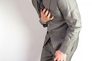 胸痛のイメージ
