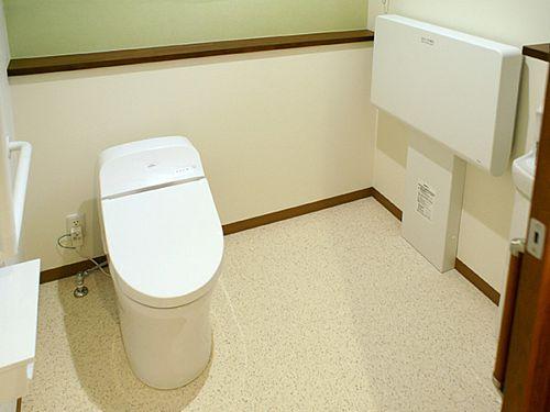 女性用トイレの写真